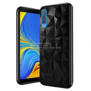 Samsung Galaxy A7 2018 FORCELL PRISM TPU fekete szilikon tok