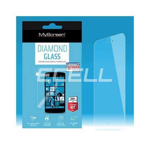 LG G3 EAZYGUARD Diamond Glass kijelzővédő üvegfólia TEMPERED GLASS (1 db)